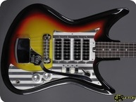 Silvertone Model 759 1437 Teisco 1965 Sunburst