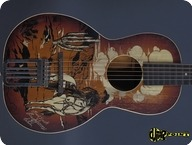 Regal Buck Jones Cowboy Guitar 1941 Western Motives