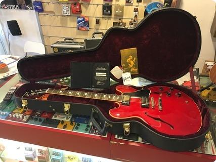 Gibson Es 335 Custom Shop '63 Block Historic Nashville 2010 Cherry