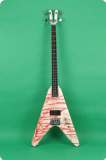 Kramer Vanguard Bass 1984 Bloodsplatter
