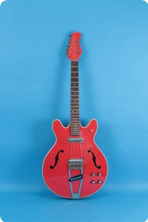 Coral (danelectro) Firefly 1968 Red