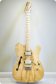 Pd Guitars T Semi Hollow 2016 Natural