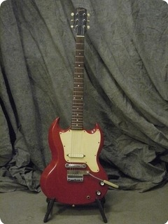 Gibson Melody Maker 1965 Cardinal Red
