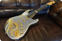 Fender USA Aluminium 2016 Chrome Gold