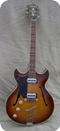 Hofner Ambassador Lefty 1967 Sunburst