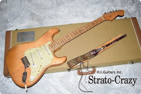 Fender Stratocaster Stripped Natural