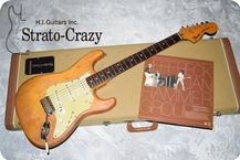 Fendr Stratocaster Stripped Natural