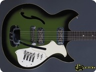 Harmony H82G Rebel 1972 Green Burst