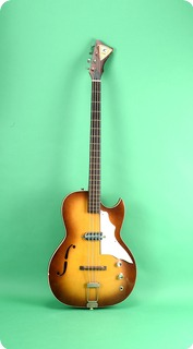 Kay Bass Guitar 1965 Sunburst