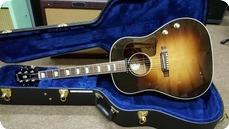 Gibson J160E 3 Tone Sunburst