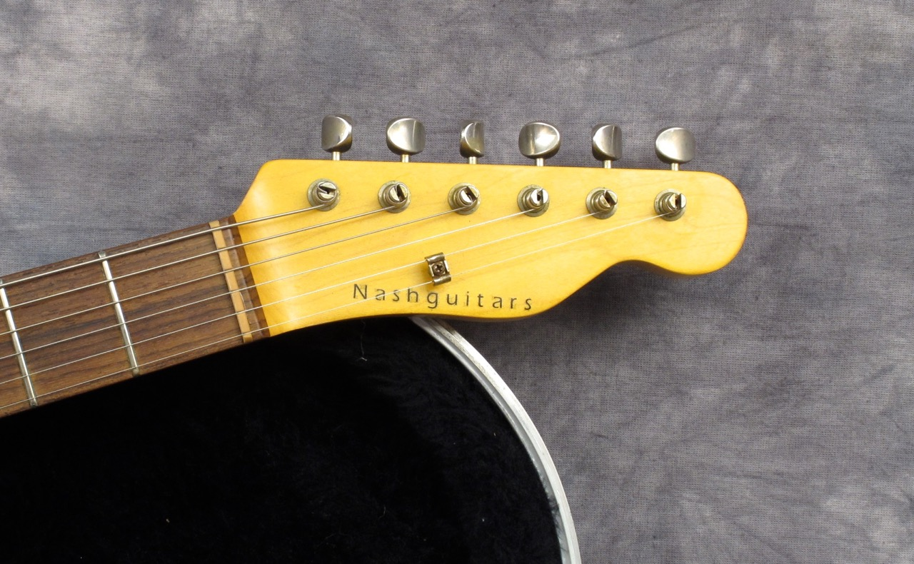 Nash Guitars T 63 2013 Sunburst Guitar For Sale Andy Baxter