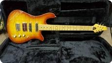 Soloway Guitars Swan LN6 Cherryburst Flame