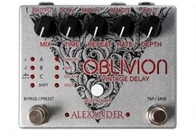Alexander Pedals Oblivion Delay 2016