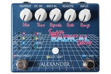 Alexander Pedals Super Radical Delay 2016