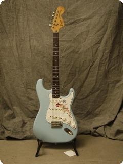 Fender Jv Squier Stratocaster '72 1983 Sonic Blue