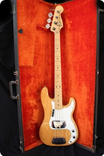Fender Precision 1974 Natural