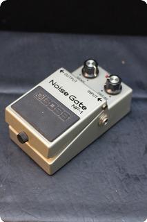 Boss Noise Gate 1985 Grey