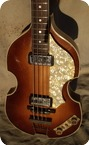 Hofner Violin Bass 5001 1964 Sunburst