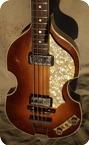 Hofner Violin Bass 5001 1964 Sunburst