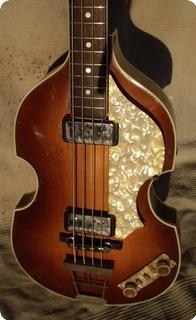 Hofner Violin Bass 500/1 1964 Sunburst
