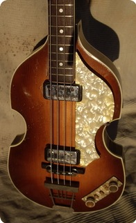 Hofner Violin Bass 500/1 1964 Sunburst
