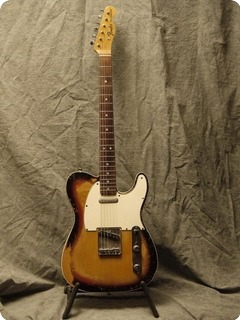 Fender 67' Telecaster Custom 1967 Sunburst