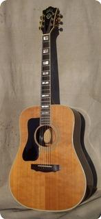 Guild D55 D 55 Lefty 1975 Natural Rosewood
