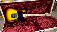 Fender Custom Deluxe Telecaster 2011 Sunburst