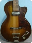 Hofner Club 40 1962 Sunburst