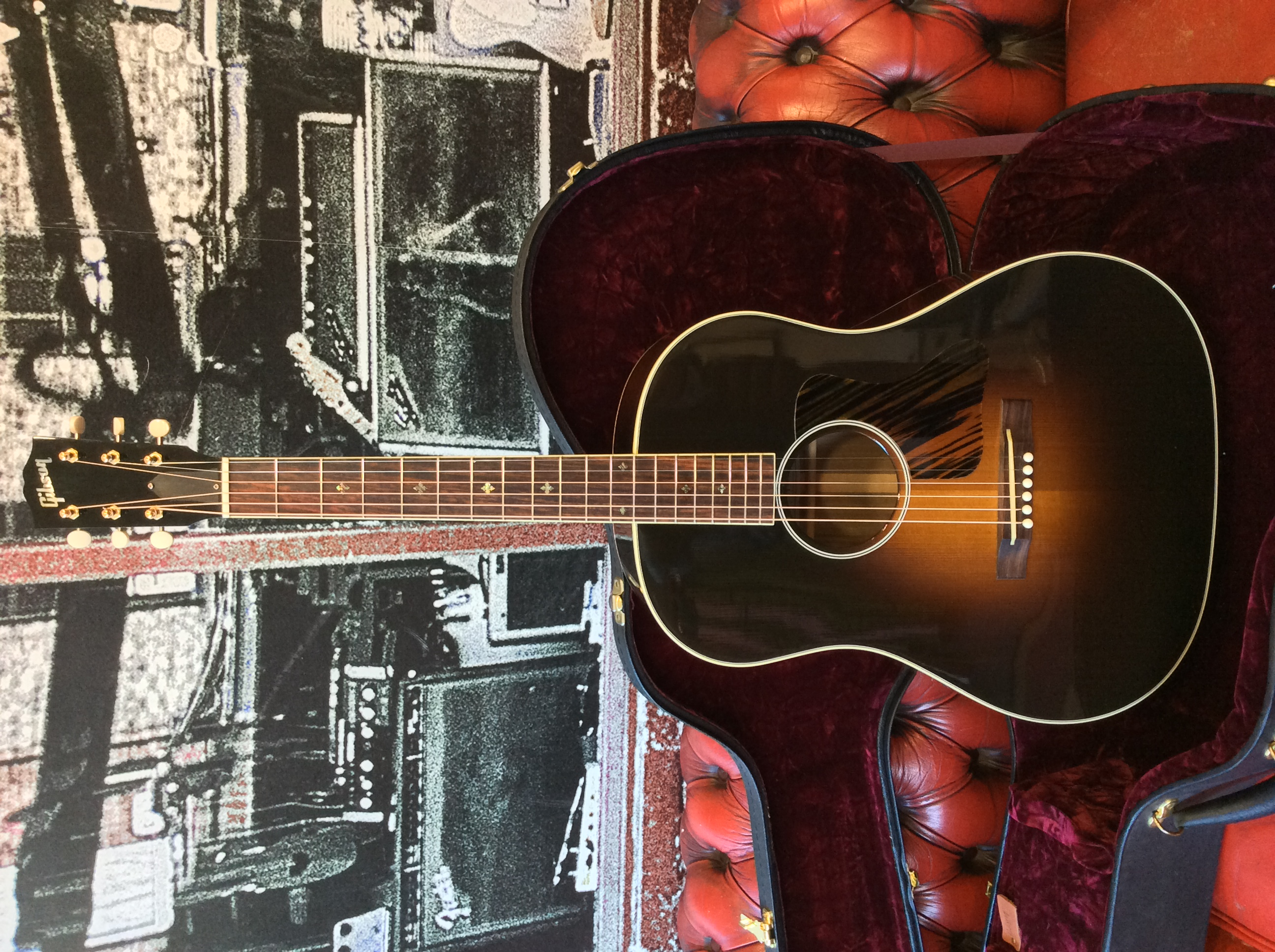 Gibson Jackson Browne Model A 2010 Sunburst Guitar For Sale Someneck