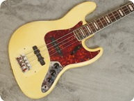 Fender Jazz Bass 1969 Olympic White Matching Headstock