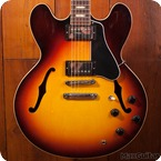 Gibson Custom Shop ES 335 2015 Sunset Burst