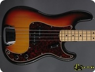 Fender Precision P Bass 1972 3 tone Sunburst