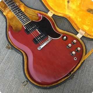 Gibson Les Paul Sg Special 1962 Cherry Red