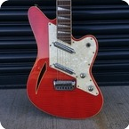 Charvel Surfcaster 1993 Trans Red