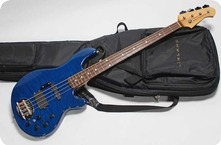 Lakland SK 4DX Skyline Japan Series 2010 Translucent Blue