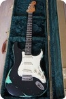 Relic Guitars The Hague Stratocaster 2015 Black Over Surfgreen