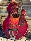 Gibson Style U Harp Guitar 1917 Sunburst