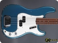 Fender Precision P Bass 1966 Lake Placid Blue