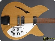Rickenbacker Model 335 1966 Mapleglo Natural