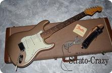 Fender Stratocaster 1964 Shorline Gold Metallic