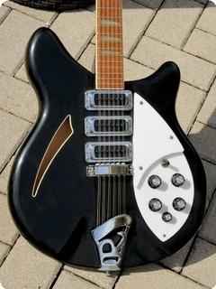 Rickenbacker 370/12 12 String 1981 Jetglo Black