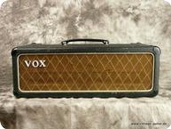 Vox Vox AC 50 MKI Diamond Head Black Tolex Copper Panel