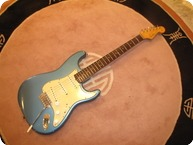 Fender Stratocaster 1963 Lake Placid Blue faded