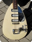 Vox MK VI Tear Drop 1964 White