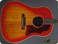 Gibson J 45 1967 Cherry Sunburst