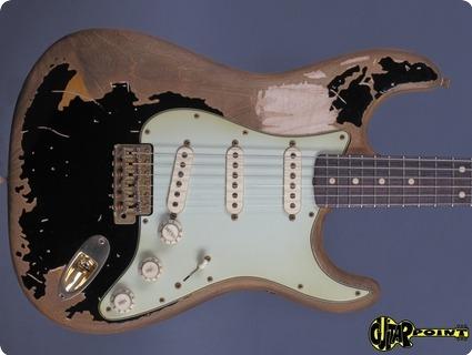 Fender Custom Shop Masterbuilt John Mayer Limited Edition Black 1 Stratocaster 2017 Black