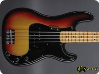 Fender Precision P Bass 1974 3 tone Sunburst