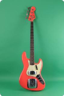 Fender Jazz Bass 1962 Fiesta Red