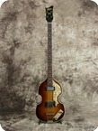 Hofner Violin Bass 5001 1966 Sunburst